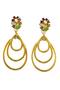 Authentic Vintage Christian Lacroix Triple Dangle Earrings (TFC-203-00002) - Thumbnail 0