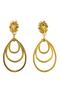 Authentic Vintage Christian Lacroix Triple Dangle Earrings (TFC-203-00002) - Thumbnail 1