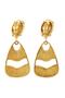 Yves Saint Laurent Dangle Clip Earrings - Thumbnail 1