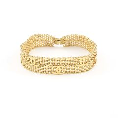 Chanel, gold metal choker