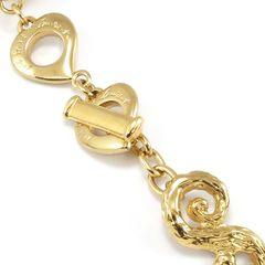 Yves saint laurent crystal heart bracelet 2