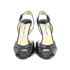 jimmy choo, two toned, patent slingbacks, hot pink heel