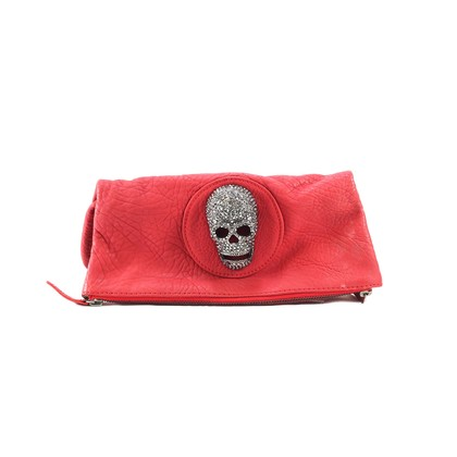Authentic Second Hand Thomas Wylde Clutch with Diamante skull  (PSS-005-00018)