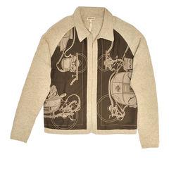 Hermes, Cashmere Silk Cardigan, Vintage