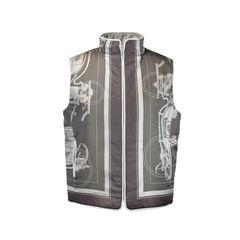 Hermes, Vintage, Reversible Vest