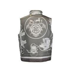 Hermes vintage reversible vest 2