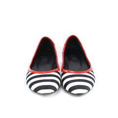DRU, nautical striped flats