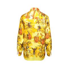 Hermes silk blouse 2