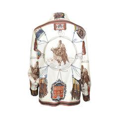 Hermes vintage silk blouse pss 006 00002 2