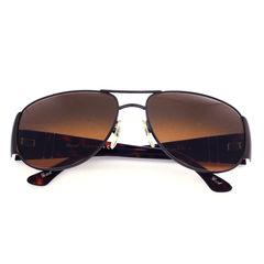 Persol, Metal Rim Edged, Sunglasses