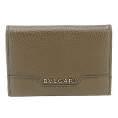 Bulgari, Business card holder, grain leather