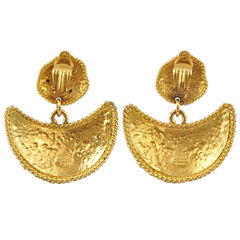 Edouard rambaud crescent clip earrings 2