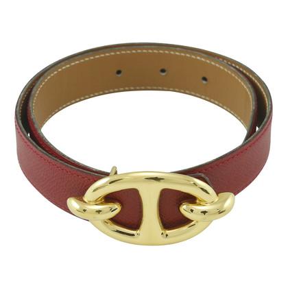 Authentic Second Hand Hermès Chaine D'Ancre Belt (TFC-101-00016)