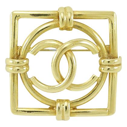 Chanel Vintage Cc Brooch