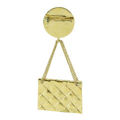 Chanel brooch with bag detail 2