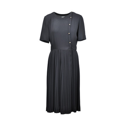 Authentic Second Hand Chanel Vintage Shift Midi Dress (TFC-101-00030)