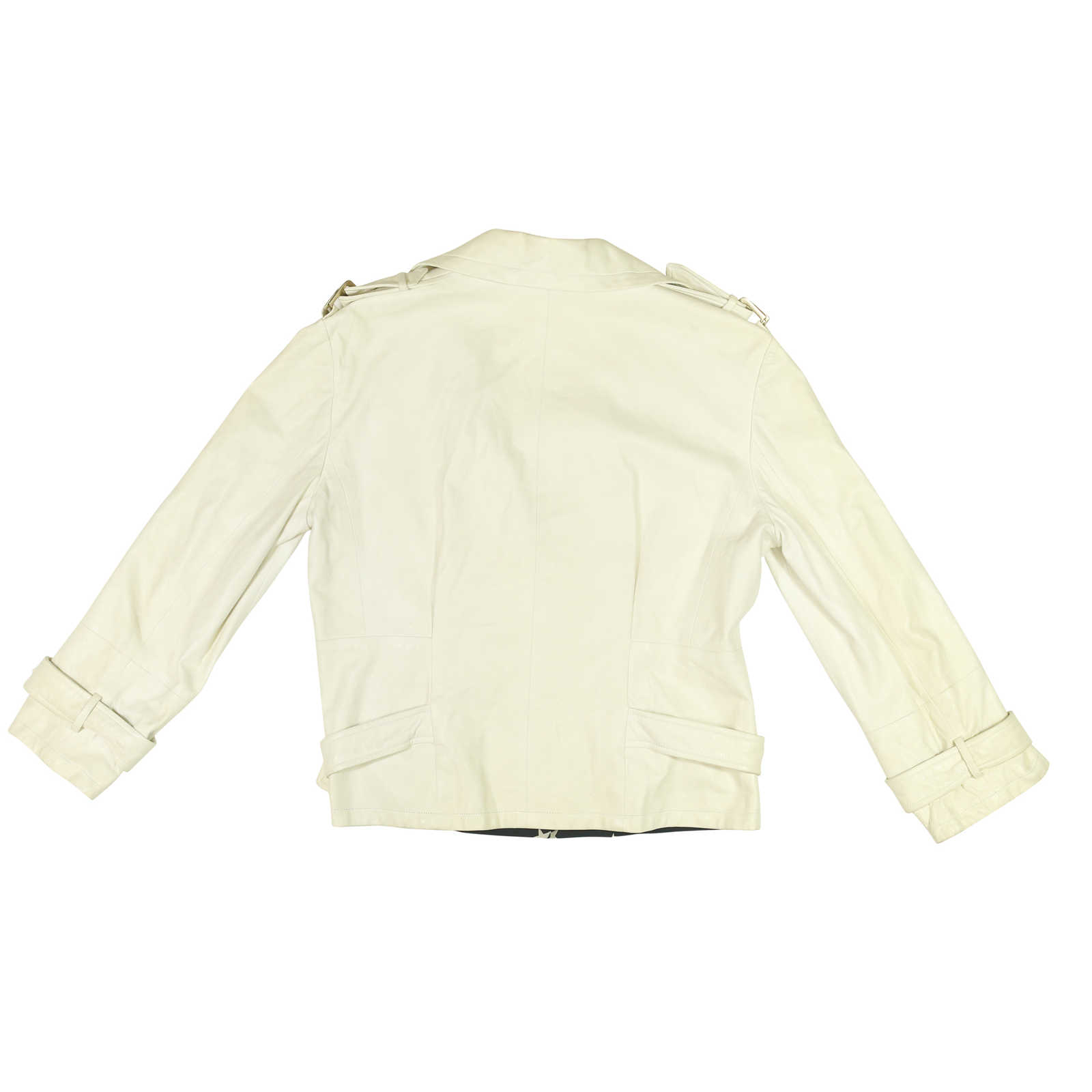 Authentic Pre Owned Chanel Leather Jacket with Buckle ...