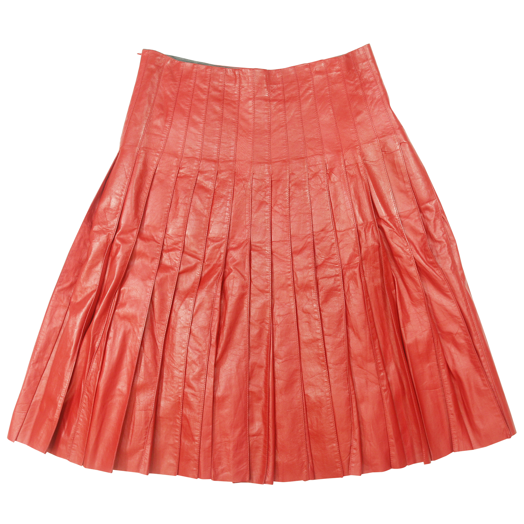 a7a2c89cf Authentic Second Hand Marc Jacobs Leather Pleated Skirt (PSS-014-00006) -  THE FIFTH COLLECTION