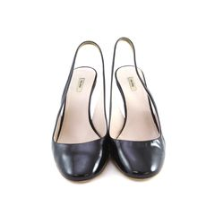 Miu Miu, Two Toned, Patent Pumps, Miuccia Prada, black