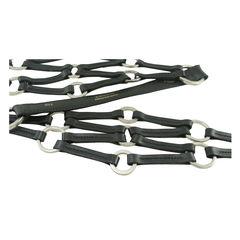 Longchamp black ringlet belt 2