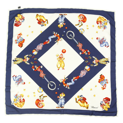 Authentic Second Hand Chopard Circus Silk Scarf (PSS-004-00035)