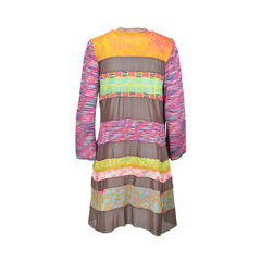 Louise della long knit cardigan 2