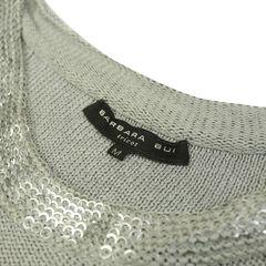 Barbara bui sequined knit dress 2