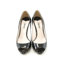 Authentic Second Hand Miu Miu Patent Peep Toe Pumps (PSS-012-00002) - Thumbnail 0