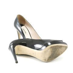Miu miu patent peep toe pumps 2