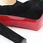 Authentic Second Hand Christian Louboutin Suede High heeled Pumps (PSS-003-00001) - Thumbnail 2