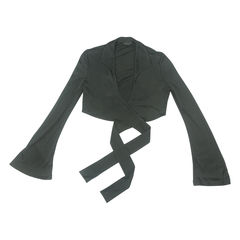 Gucci, Cropped Ribbon, Tie Jacket