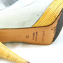 Authentic Pre Owned Sergio Rossi Peep Toe Heels with Wooden Heel (PSS-003-00002) - Thumbnail 2
