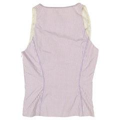 Versace plaid blouse 2