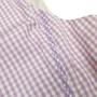 Authentic Second Hand Versace Plaid Blouse (PSS-014-00012) - Thumbnail 3