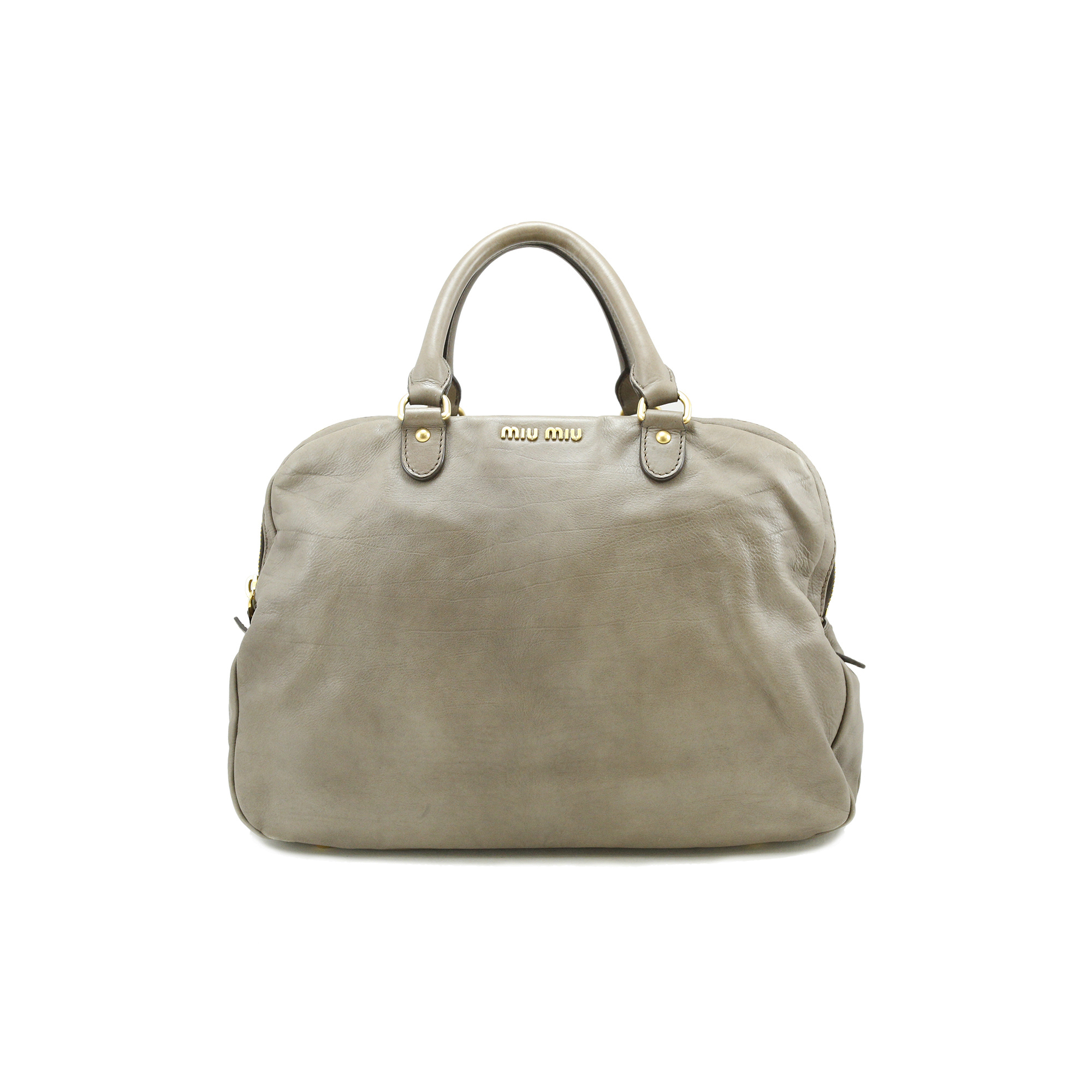 Authentic Pre Owned Miu Miu Calf Leather Bag (PSS-005-00021)  59a6e4271