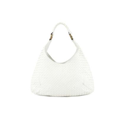 Authentic Second Hand Bottega Veneta Calf Intrecciato Sloane bag (PSS-005-00024)