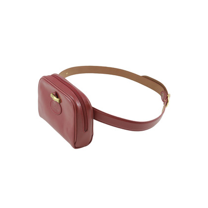 Authentic Second Hand Longchamp Red Belt Bag (PSS-015-00007)