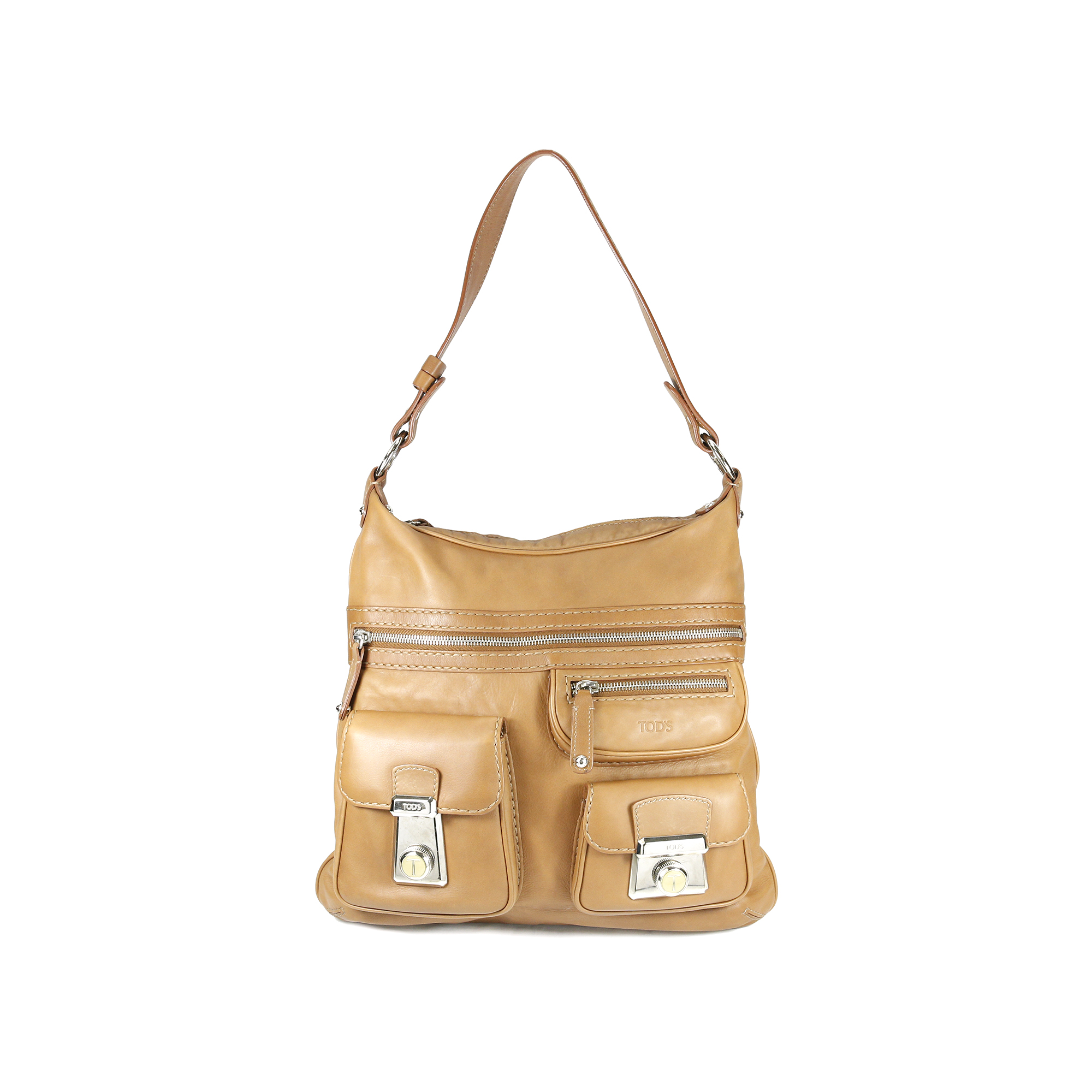 39a3ba3a60 Authentic Second Hand Tod's Tracolla Media Bag (PSS-004-00036) - THE FIFTH  COLLECTION