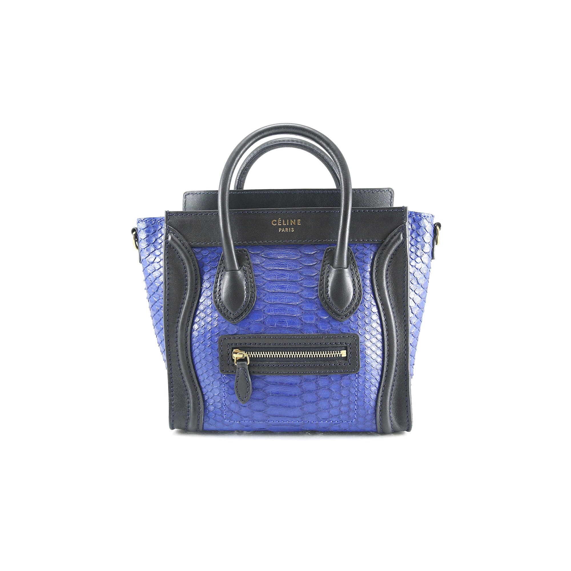 df8e424ee9 Authentic Second Hand Céline Nano Python Luggage (PSS-020-00008 ...