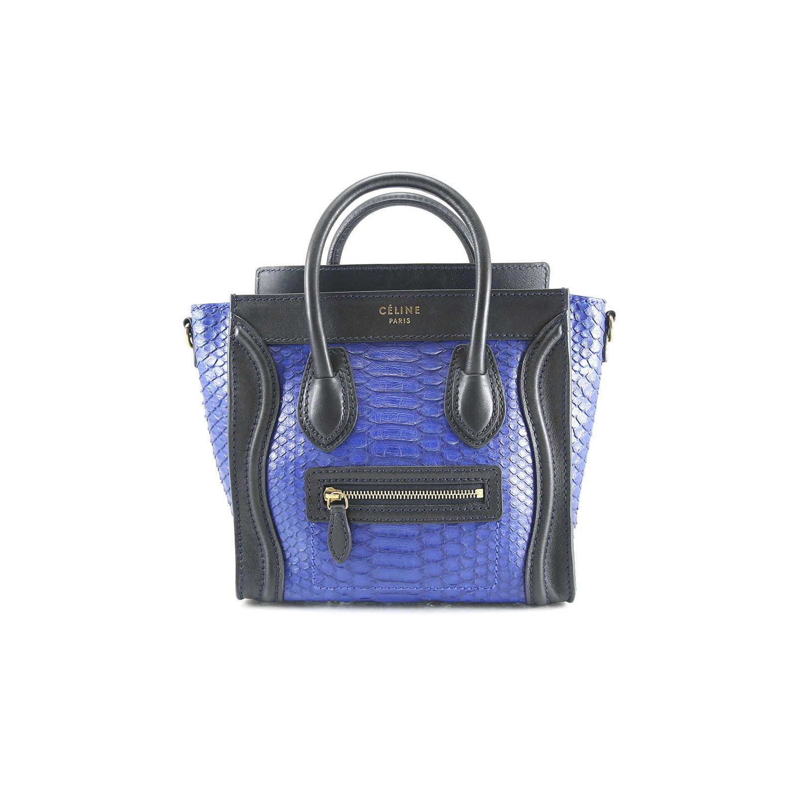 Authentic Second Hand Céline Nano Python Luggage (PSS-020-00008) - Thumbnail  ... 8fab0238d1dee