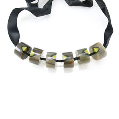 Marni marbled effect necklace 2