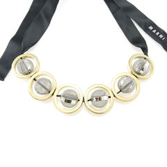 Marni mesh ball necklace 2
