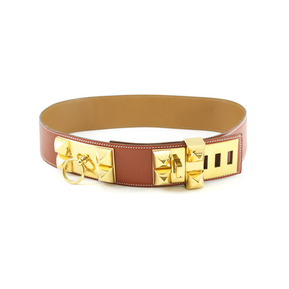 Authentic Second Hand Hermès Collier De Chien Belt (TFC-101-00034)