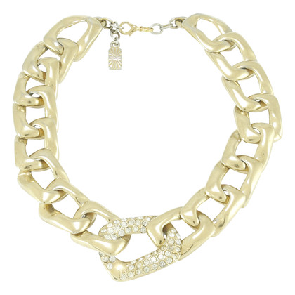 Authentic Second Hand Yves Saint Laurent Chain Link Necklace (TFC-203-00021)