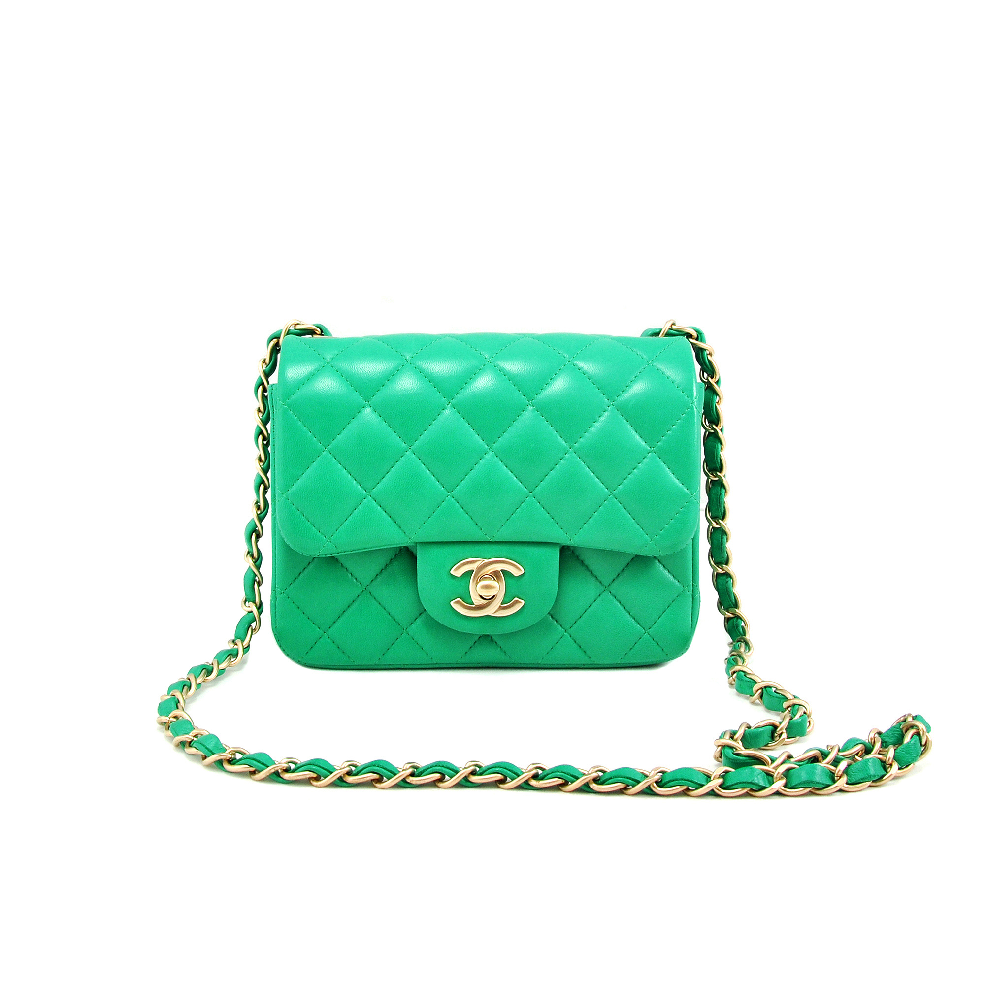 d171a7a6da06 Authentic Second Hand Chanel Mini Square Classic Flap (PSS-021-00001) | THE  FIFTH COLLECTION