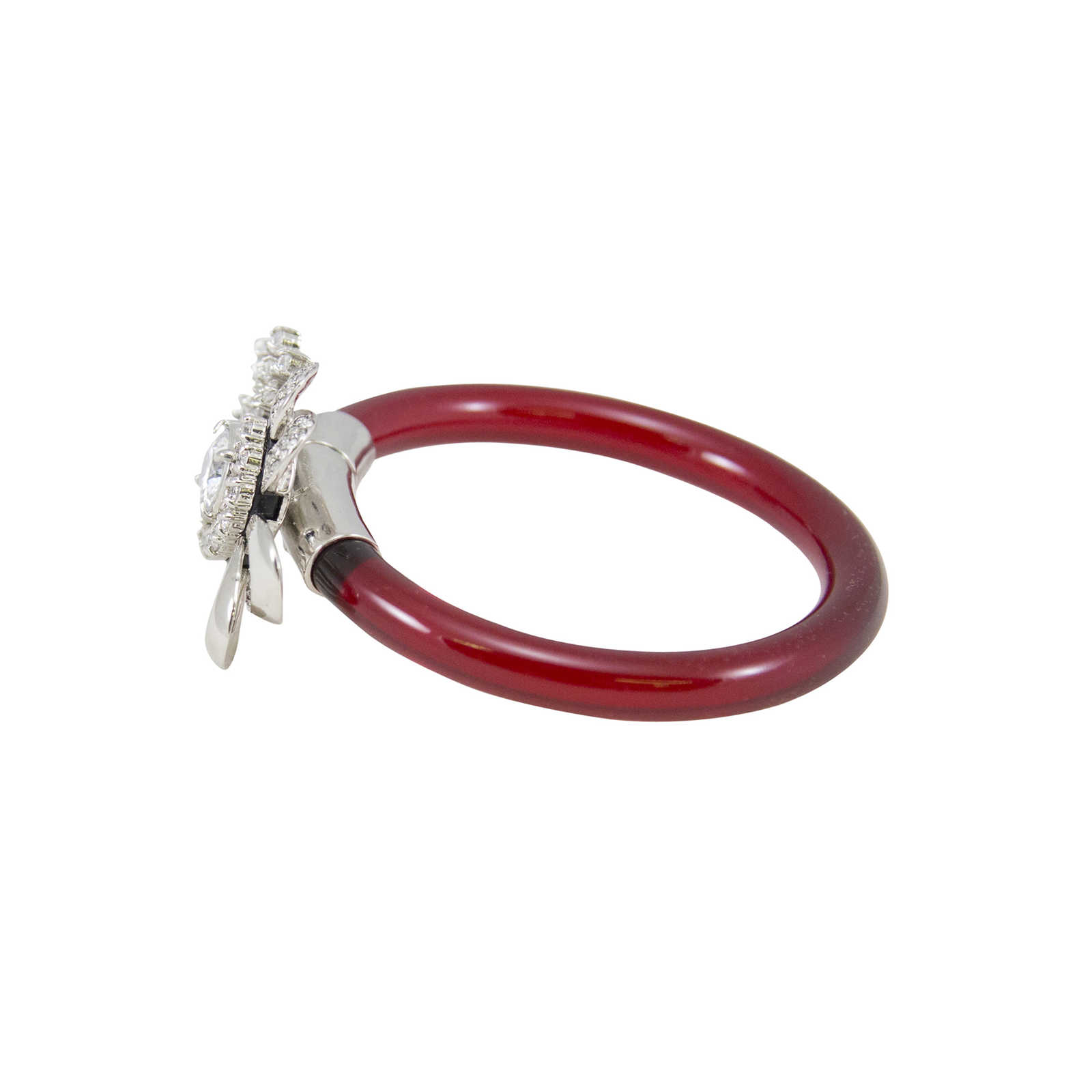 ref pink photo bracelet woman luxe accessories other c leather miu instant