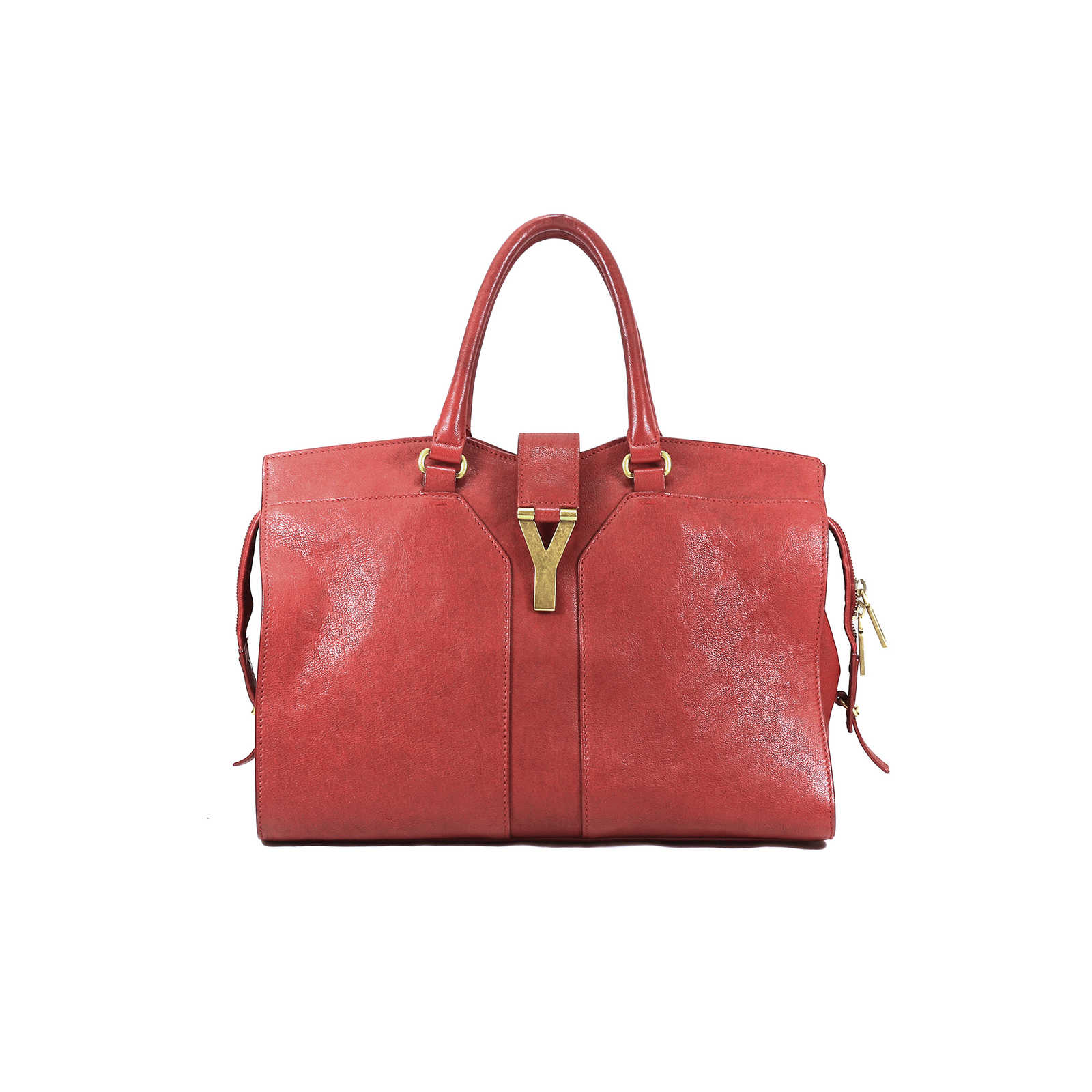 2f8f216e26e0 Tap to expand · Authentic Second Hand Yves Saint Laurent Chyc Cabas Bag  (PSS-025-00043) ...