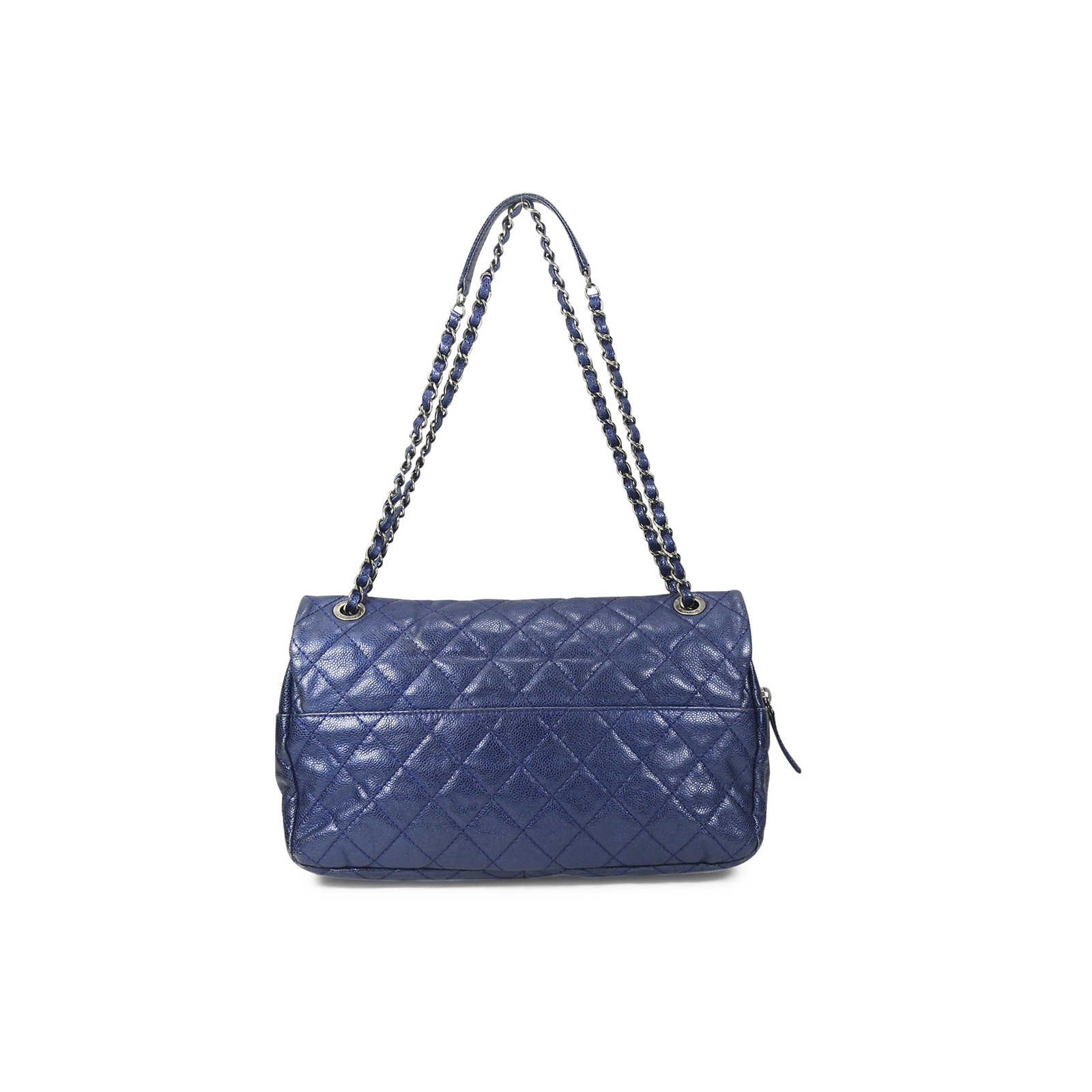 988bc0eb757a ... Authentic Second Hand Chanel Caviar Easy Flap Bag (PSS-025-00054) ...