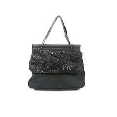 Sequinned Canvas Bag