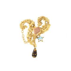 Ornate Brooch with Gems